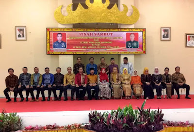 Malam Pisah Sambut Dandim 0410 Kota Bandar Lampung