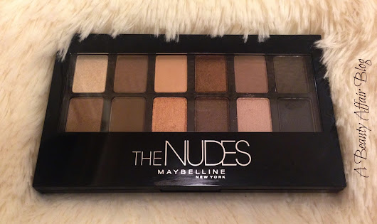 "Maybelline ""The Nudes"" Swatches & Review"