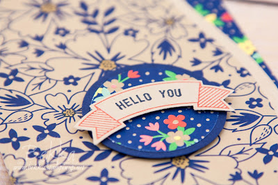 Hello You, Thoughtful Banner Greeting Card - Get all the supplies here - available to buy from 1 June 2016