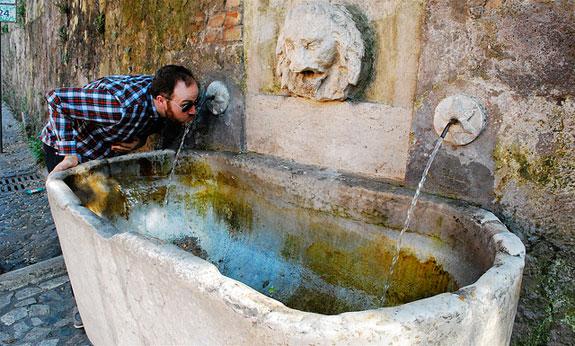 Η Ρώμη κινδυνεύει να μείνει χωρίς νερό