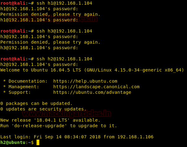 Multiple Ways to Secure SSH Port 23 – 21