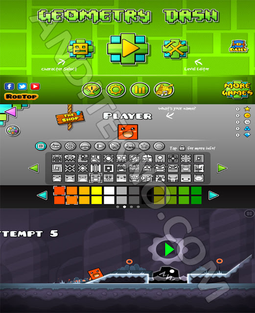 Download Game Geometry Dash Mod Apk Terbaru 2019