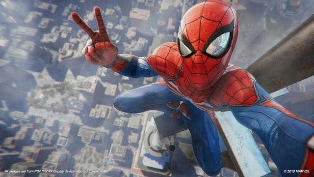 لعبة Spider-Man تسجل أفضل إنطلاقة هذا العام في بريطانيا و تزيح عنوان God of War ..