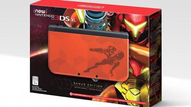 الكشف عن نسخة خاصة لجهاز Nintendo 3DS بألوان لعبة Metroid : Samus Returns