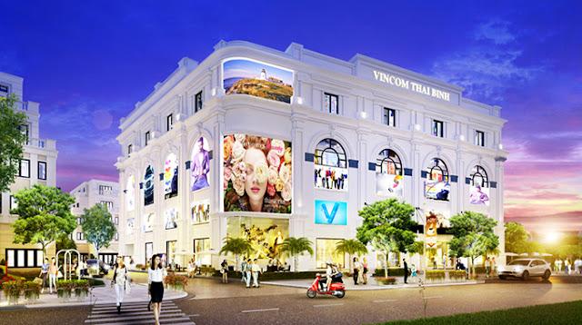 Trung tâm thương mại Vincom Thái Bình