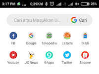 Eliminating Notifications and News on UCBROWSER