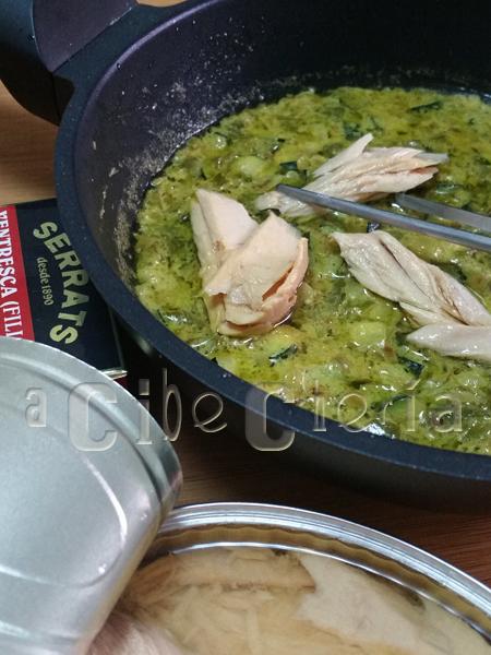 Curry de ventresca, aperitivo de lujo