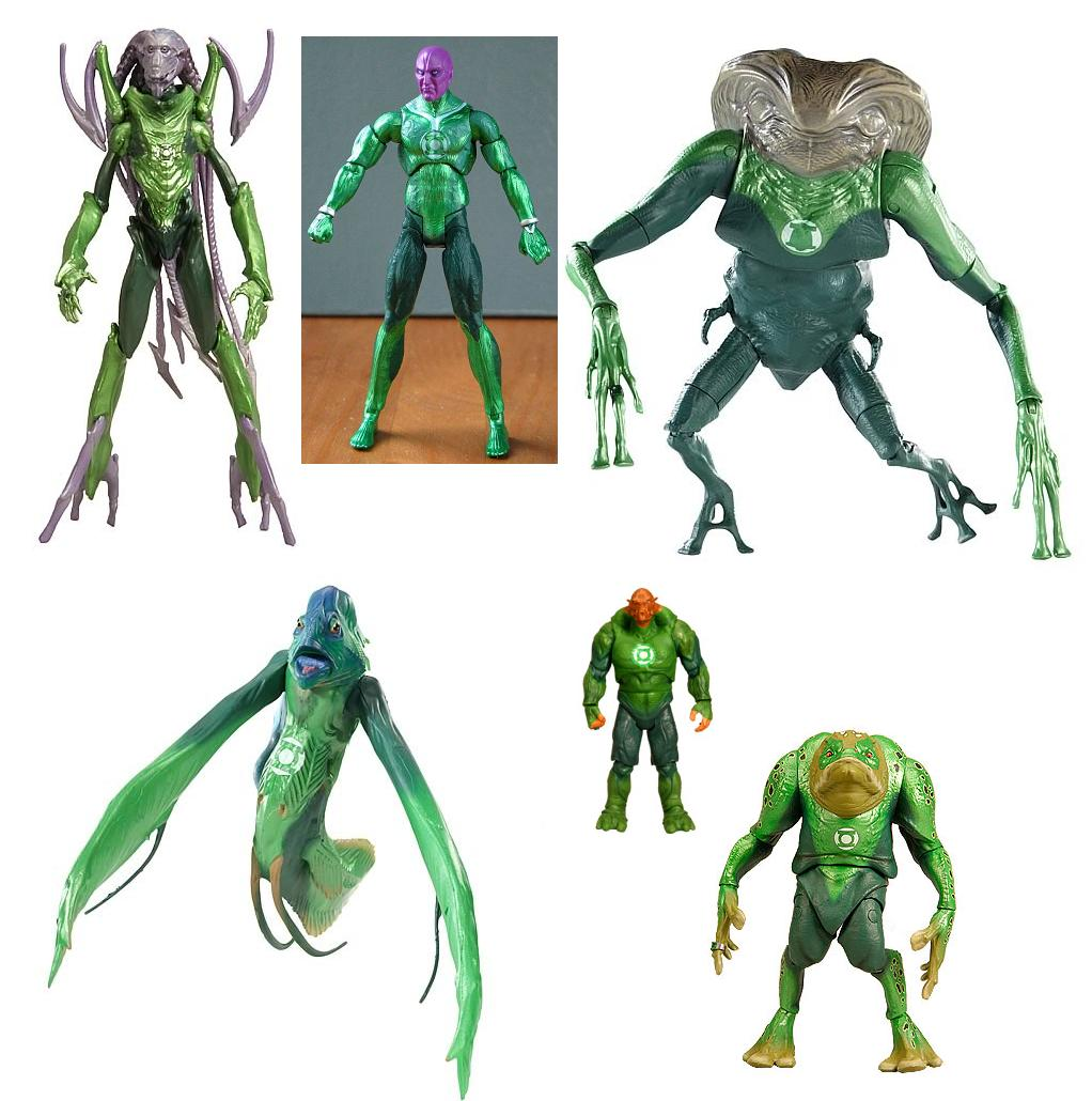 "Green Lantern Rétro Bois Warriors 8/"" Action Figure New in Box-PPW Toys"