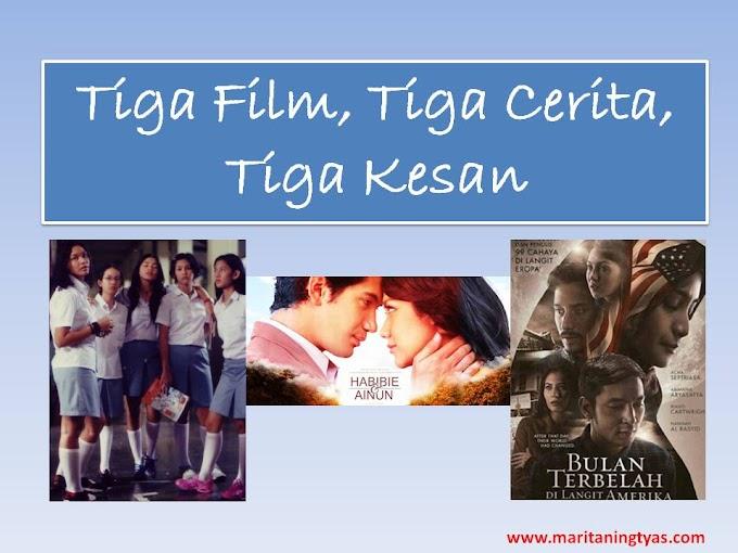 Tiga Film, Tiga Cerita, Tiga Kesan