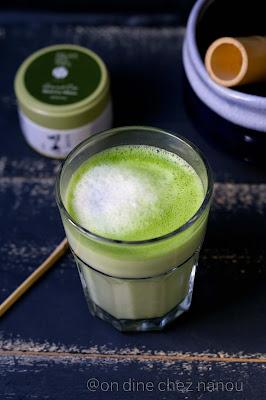 matcha , lait de coco , antioxydant , palais des thés