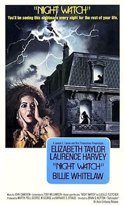 Night Watch (1973) Elizabeth Taylor horror