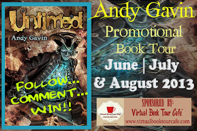 Review ~ Untimed by Andy Gavin Blog Tour