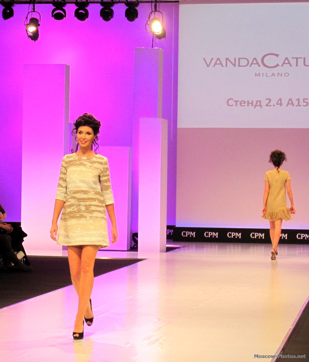 Fashion Show at Collection Premiere Moscow - Vanda Catucci