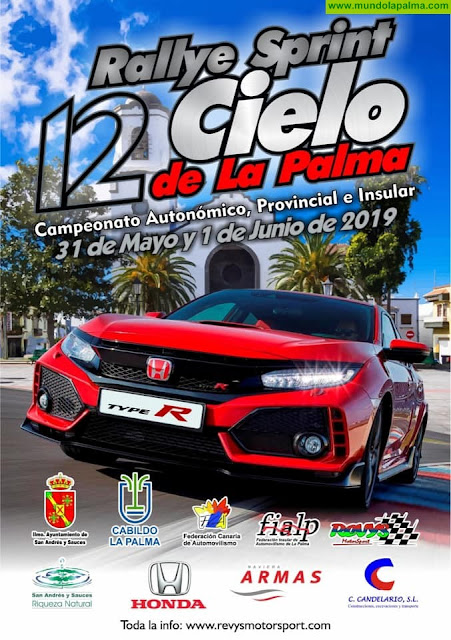 12 Rallye Sprint Cielo de La Palma en San Andrés y Sauces