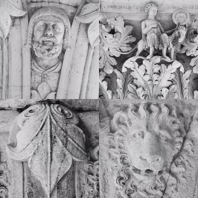 Architectural Capitals, Doge Palace, Venice, Italy