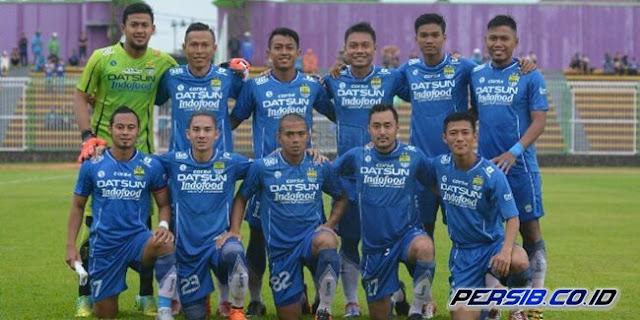 Persib Bandung Menang 7-1 atas Priangan United