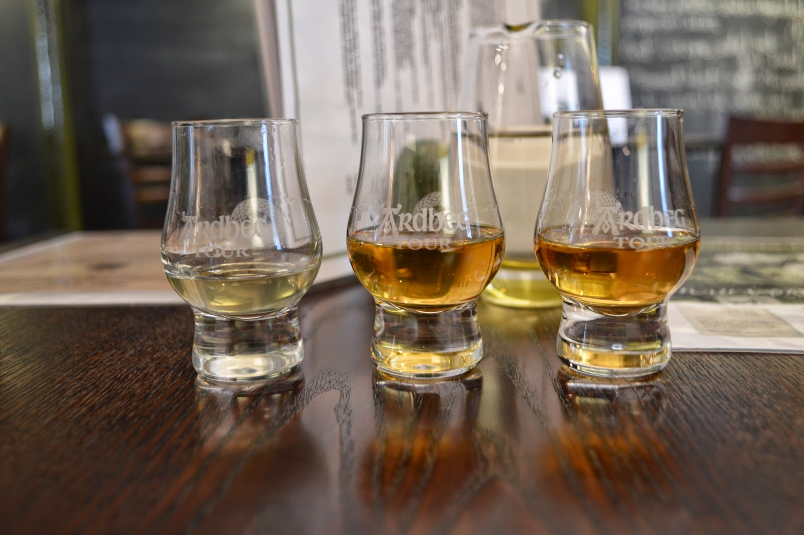 Whisky tasting at Ardbeg Distillery, Islay, Scotland