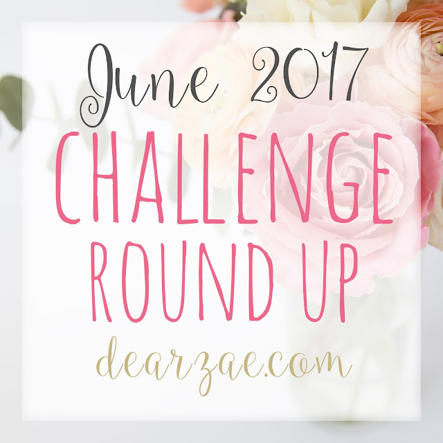June Scrapbooking and Papercrafting Challenge List