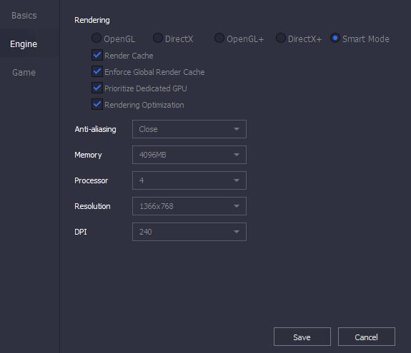 Setting Emulator Tencent