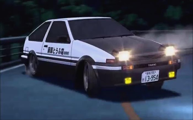 anime balapan mobil