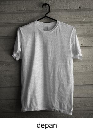 Download Template Kaos Oblong Dengan Hanger File CDR