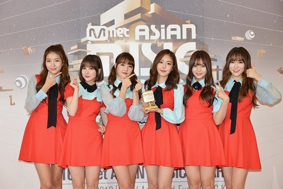 GFRIEND Best Dance Performance Female Group