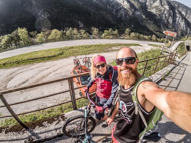 Alte Bahntrasse Tolmezzo Radweg Mountainbike