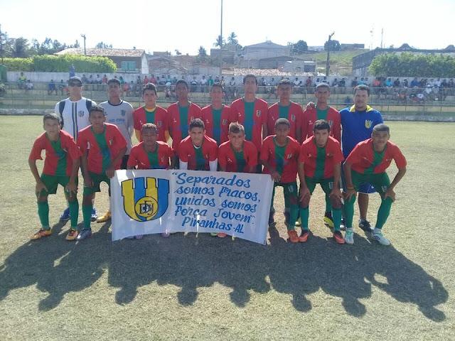 Equipes de futebol de Piranhas  conquistam 2º lugar em campeonatos interestaduais