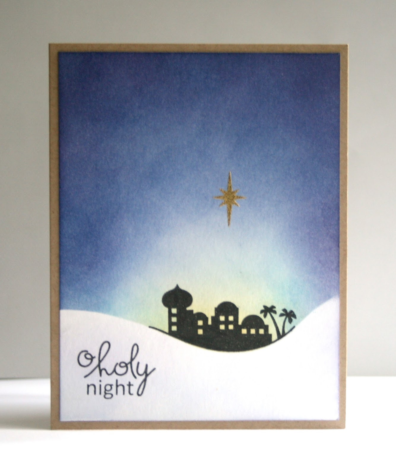 O Christmas Tree Christmas Cards: Sooner Rather Than Later: O Holy Night