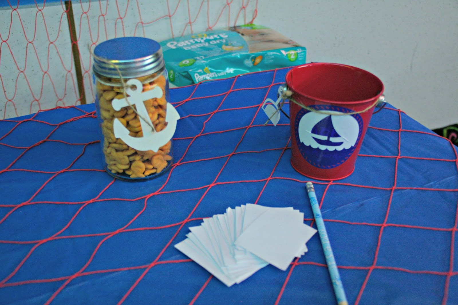 Ahoy It S A Boy Nautical Baby Shower Orientaltrading