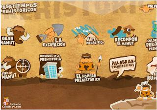 http://www.educa.jcyl.es/educacyl/cm/gallery/Recursos%20Infinity/juegos_jcyl/pasatiempos_prehistoria/index.htm