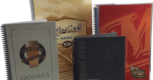 Print Restaurant Menus at US