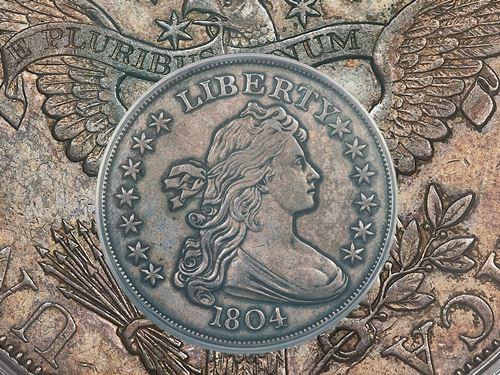 1804 $1 silver dollar