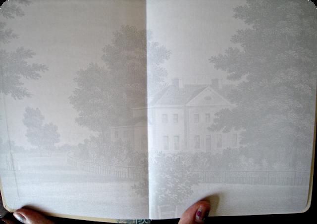 Jane Austen Journal Inside
