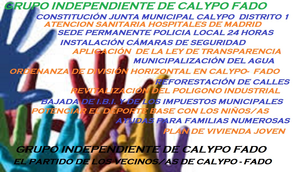 CALYPO-FADO  - GRUPO INDEPENDIENTE
