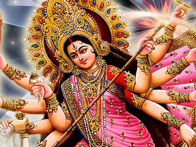 Best Maa Durga Face Wallpaper