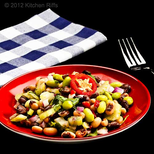 Edameme and Bean Salad