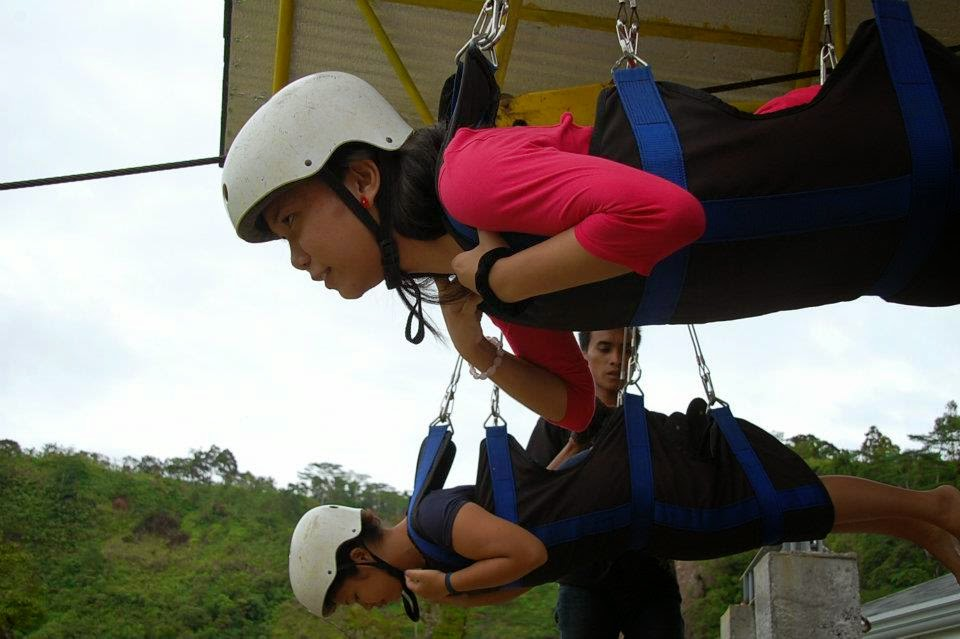 What to do in Leyte ? Zipline at Agas Agas Bridge