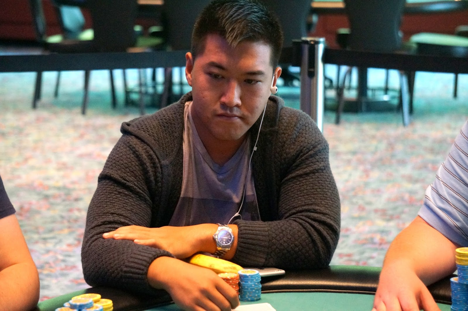 Foxwoods Poker: Monster Stack - Chris Leong Eliminated in