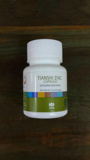 zinc capsule kalsium peninggi badan tiens