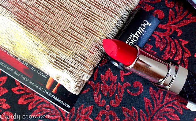 July Fab Bag 2015 Review, red lips