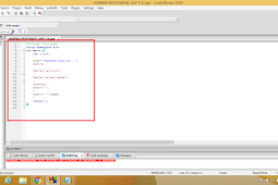 Program Menampilkan Angka Ganjil Berbentuk Segitiga C++