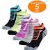 Amazon: $3.30 (Reg. $10.99) Women's No Show Athletic Socks, 5-Pairs!