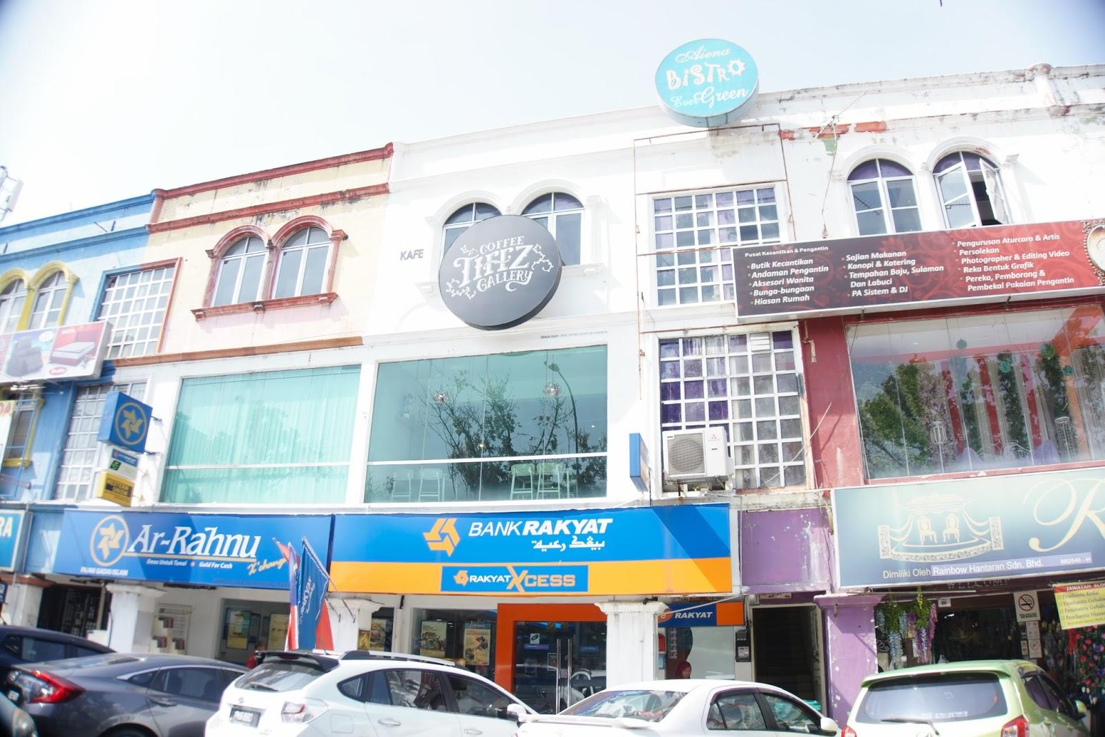 Tiffz Coffee Gallery Cafe Alor Setar, Kedah