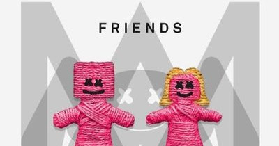 Friends English Song Lyrics | Marshmello | Anne-Marie | English Song