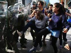 Students' Protests in Chilean
