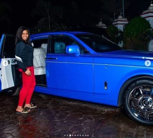 See What E-money Surprises Wife With As Christmas Gift (Photos)