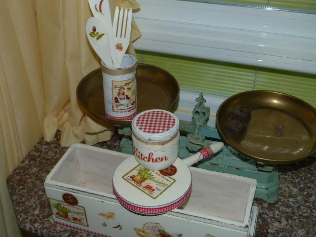 caja de vino y envases reciclados para cocina isabel vintage - Cajas De Vino Decoradas
