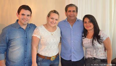 Pires Ferreira: Presidente da Assembleia Legislativa declara apoio a pré-candidatura de Marfisa Aguiar.
