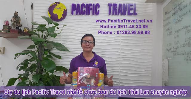 Cty du lịch Pacific Travel nhà tổ chức tour du lịch Thái Lan chuyên nghiệp